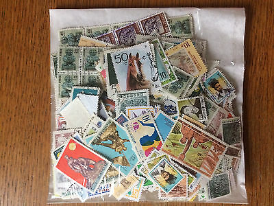 South Korea approx 100g stamps