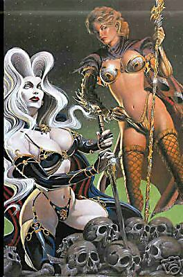CHAOS  - Comic - Lady Death/Medie. Witchbl. - Variant