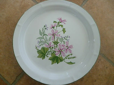 A Beautiful Ulster Creamic Wild Mallow Decorative Plate, Used.