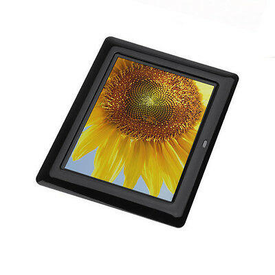 Hot 7inch HD LCD Digital Photo Frame with Alarm Clock Slideshow MP3/4 Player
