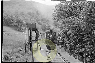 MONO LARGE NEGATIVE DOUGLAS TALYLLYN NARROW GAUGE RAILWAY WALES 1960s