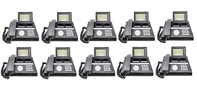 Lot of 10 Siemens OpenStage 40 SIP IP Office Phones works with Asterisk