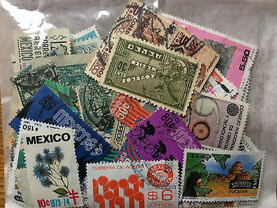 Mexico 25g stamps
