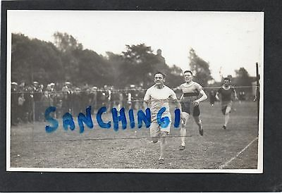 TIPTON HARRIERS SPORTS AT VICTORIA PARK JUNE 1st 1929 RARE RP (info to reverse)