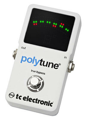 TC Electronic PolyTune 2 Polyphonic Tuner Pedal (NEW)