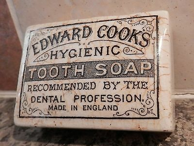 Vintage - Edward Cooks Hygenic Tooth Soap Pot Lid