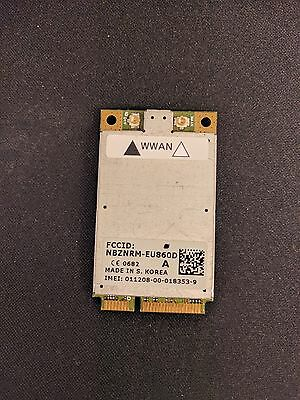 Laptop WWAN EU860D 3G Card, NBZNRM-EU860D For CF-19 and CF-53