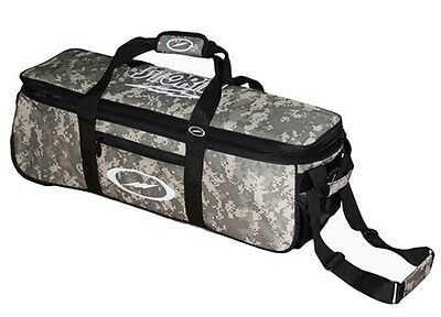 Storm 3 Ball Camo Tournament Tote Bowling Bag with wheels Color Camouflage