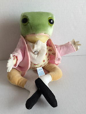 Eden Toys Jeremy Fisher Plush Stuffed Frog - Beatrix Potter Peter Rabbit