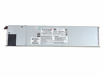 SuperMicro PWS-501P-1R 80 Plus Platinum 500 Watt Power Supply