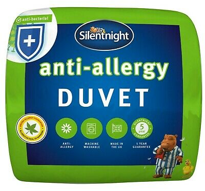 Silentnight Anti Allergy Duvet / Quilt - 13.5 Tog - Single Double or King Size