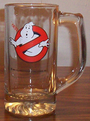 1984 Ghostbusters Glass Mug