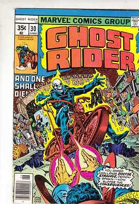Ghost Rider 30 strict NM- 9.2 1978   And One Shall Die!!!  tons more@Kermitspad
