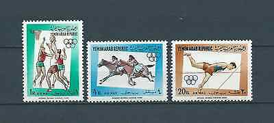 YEMEN - 1964 YT 17 à 19 - POSTE AERIENNE - TIMBRES NEUFS** MNH LUXE