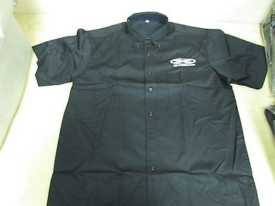 Xtreme Brand - Black Pit Shirt With Front + Back Logos - Mens Small (Loose)