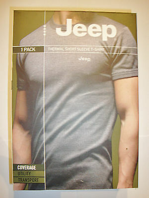 """Mens 1pr Thermal Short Sleeve T-Shirt Size Small Up to 37"""" (up to 94cm)"""