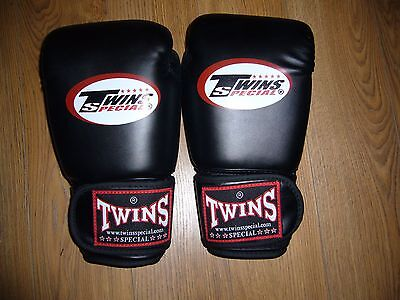 Twins Special Muay Thai Boxing Gloves Genuine Leather 12oz