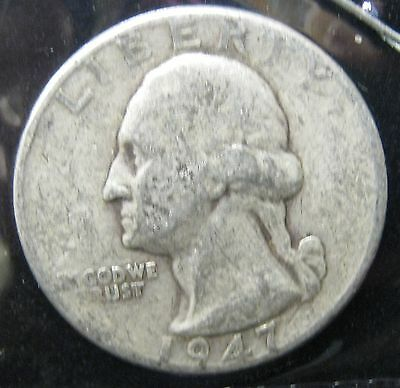 1947 Washington Silver Quarter - You Grade   P-220