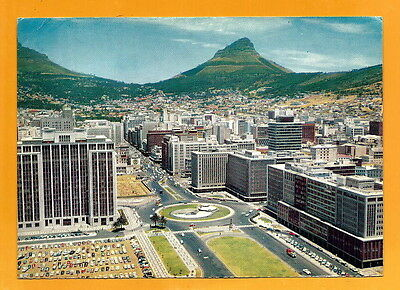 South Africa  Vintage    Postcard - Cape Town -From One Of Its Skyscrapers