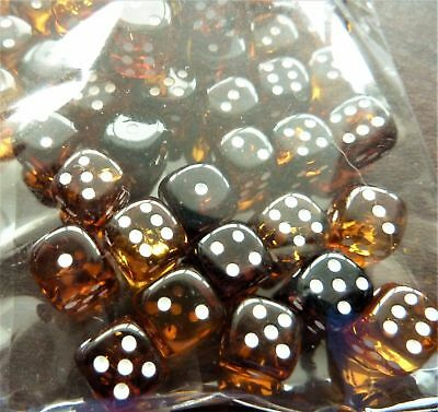 Handmade Baltic Amber Game Dice 8 mm (a338)