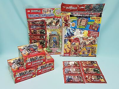 Lego® Ninjago™ Serie 2  Trading Card Game Starterpack Booster Display Multipack