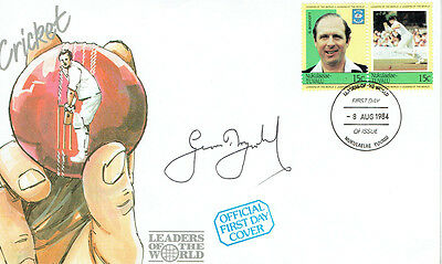 Geoff BOYCOTT Signed Autograph Cricket First Day Cover FDC COA AFTAL