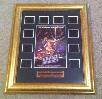 STAR WARS V THE EMPIRE STRIKES BACK Framed 35mm Original Film Cells 57 Of 200