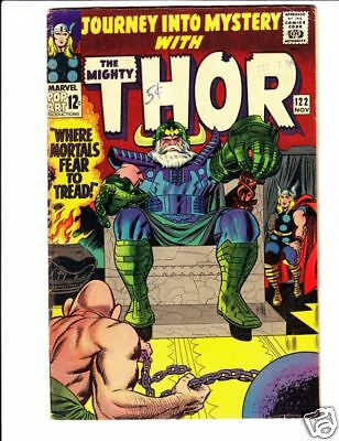 Thor 122 Journey into Mystery 122 strict VG 50% off! Jack Kirby, Absorbing Man