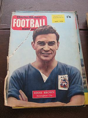 Chrles Buchan's  Football Monthly May 1956 No 57