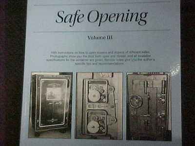 VOL.3 NEW BOOK Guide to Safe Opening by Dave McOmie, Locksmith,Safe tech.student