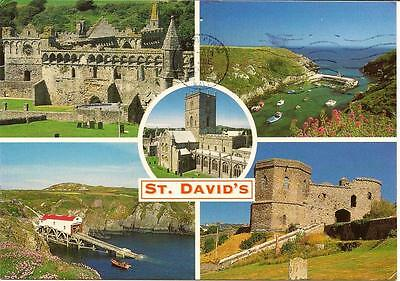 St. David's - Pembrokeshire - Views - Posted Postcard