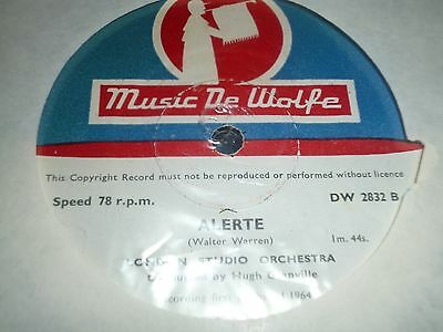 "Collection Job Lot of 5x MUSIC DE WOLFE 10"" 78RPM Gramophone Records (33/17)"