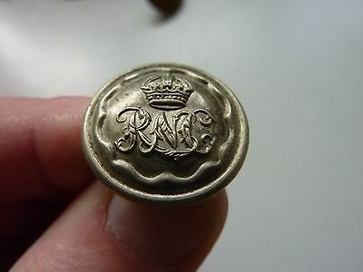 Ww2 Original S Africa Royal Natal Carbineers Button White Metal 3/4 Inch