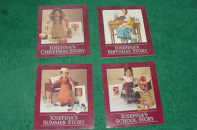 American Girl Josefina Pamphlets Christmas Birthday Summer School Story Pleasant