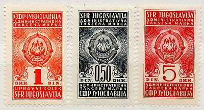 (I.B) Yugoslavia Revenue : Duty Stamp Collection (A)