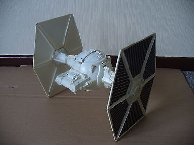 VINTAGE Star Wars WHITE Imperial Tie Fighter General Mills Fun Group Kenner 1978