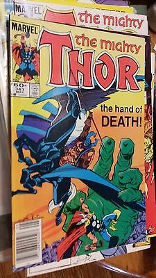 THE MIGHTY THOR  #343 COMIC BOOK in VERYNEARMINT+ cond
