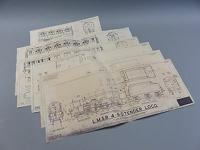 Original Skinley O Gauge plans of LMS locos and Coaches