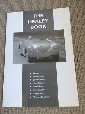 """The Healey Book""  for sports car enthusiast"