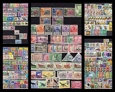 Ethiopia collection +/1950-1994 see 5 scans send in 2 glassine bags