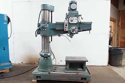 "TURNPRO RD-900 RADIAL ARM DRILL Geared Head Drill Steel 1.5"" / Cast iron 2"""