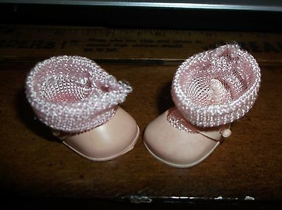 Vogue Ginny Doll Pink Shoes & Pair Of Socks