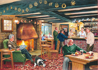 The House Of Puzzles - 500 PIECE JIGSAW PUZZLE - Mine's A Pint Unusual Pieces
