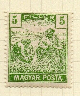 Hungary 1919-20 Early Issue Fine Mint Hinged 5f. Inscribed Magyar Posta 122347