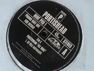 "Portishead - All Mine 12"" Promo only."