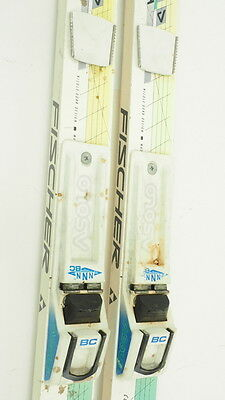 Vintage! Fischer Country Crown Cross Country Skis 200cm W/ Asolo NNN Bindings