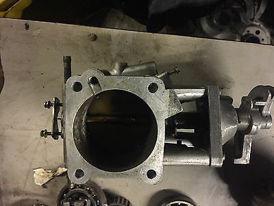 Large 75mm Throttle Body - from big JAGUAR but was adapted for hillclimb car
