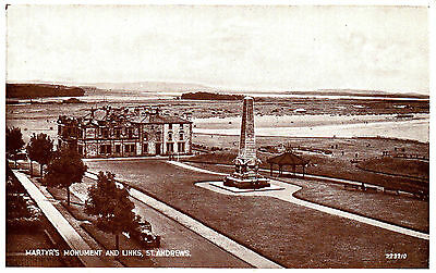 Golf 2 Real Photo P/cards St. Andrews Club House Links