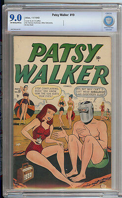 Patsy Walker #19 CBCS 9.0 OW to White Pages, Highest Graded Copy