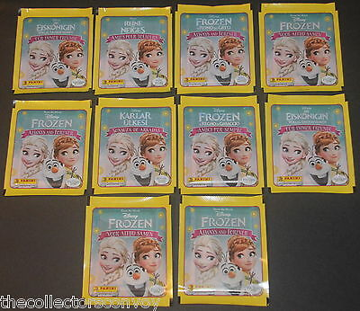 10x Panini Disney FROZEN Always and Forever Sticker Pack / Packets (50 stickers)